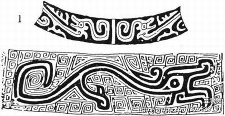 唐朝古典花纹底图