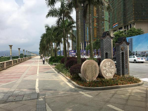热烈庆祝佛山市九江镇法制长廊项目已正式完成验收