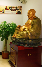 铜心源艺术馆弥勒佛佛像