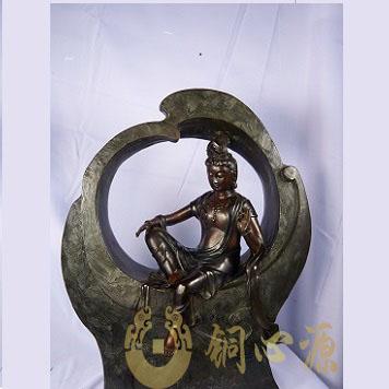 《观自在观音》铜雕/艺术品/定制/订制