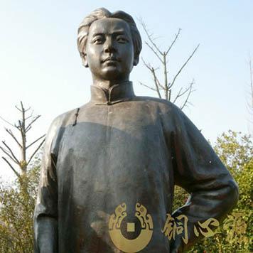 湖南橘子洲公园 《毛泽东和他的战友》大型人物群铜像