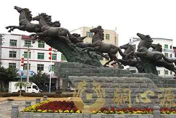 广东省韶关市仁化《腾飞》雕塑
