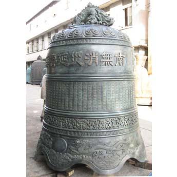 江苏盐城泰山护国禅寺铜钟
