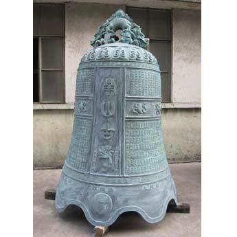 上海南山古寺铜钟