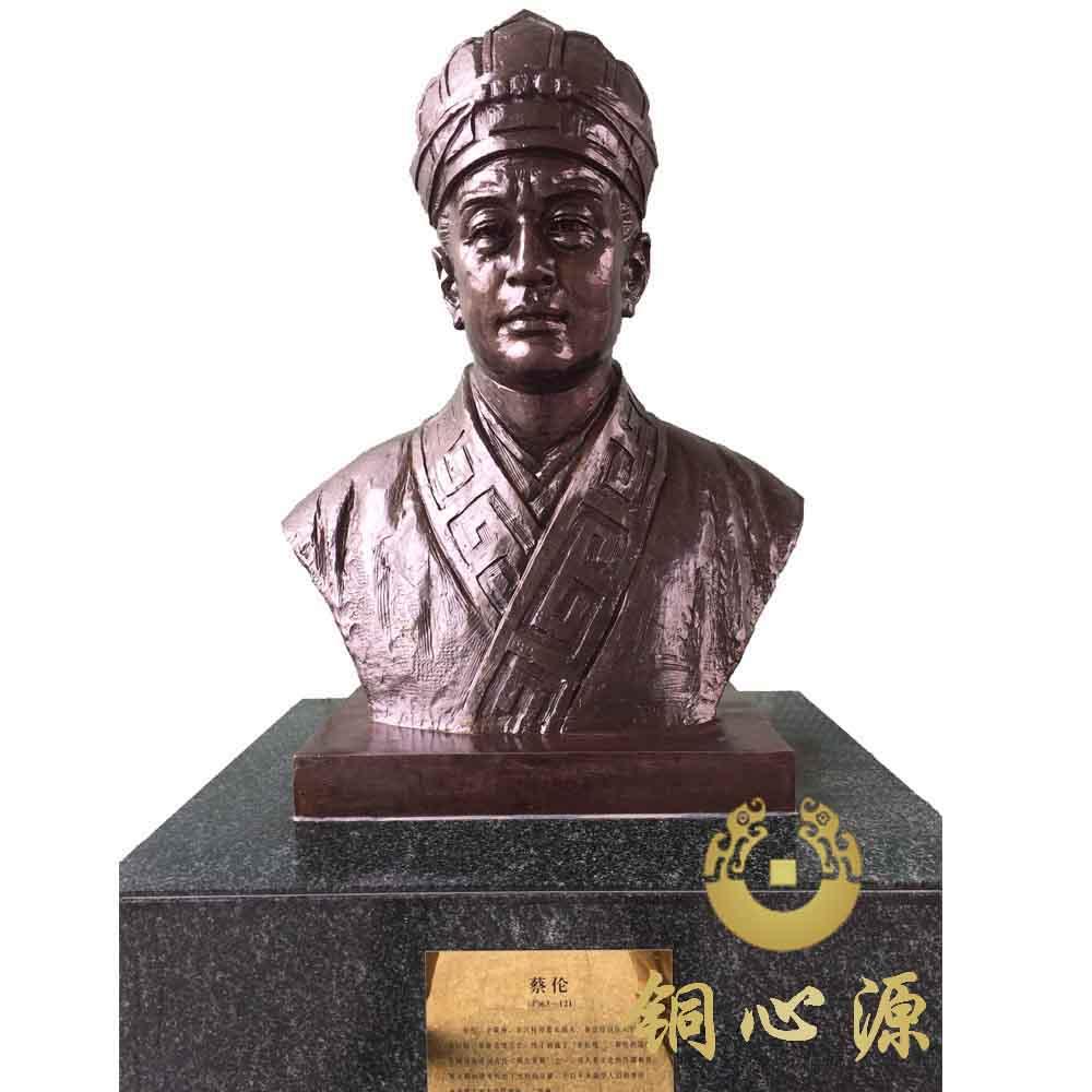 广东省佛山市图书馆古今中外名人铜像