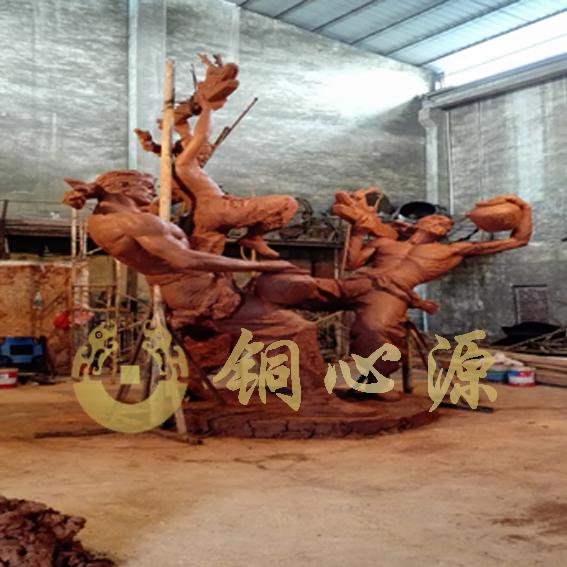 中山《醉龙》城市铜雕塑
