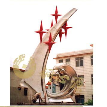 深圳不锈钢雕塑 高6米