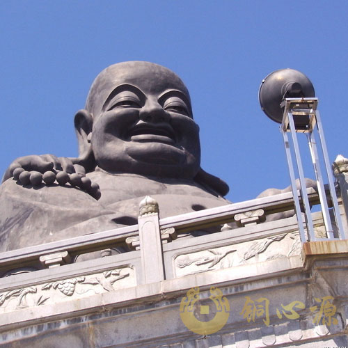 福建龙岩20.8米弥勒佛铜像工程