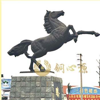 顺德三洲政府飞马雕塑工程