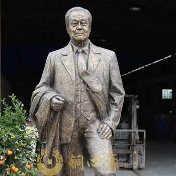 新会人民医院霍宗杰人物铜雕工程