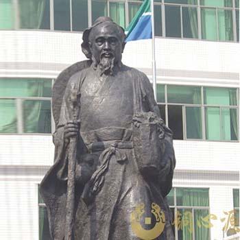 惠州市协和医院华陀全身铜像雕塑