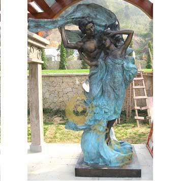 西方爱情铜雕|小区雕塑|房地产雕塑
