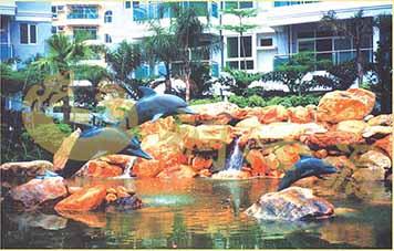 广州华南碧桂园雕塑