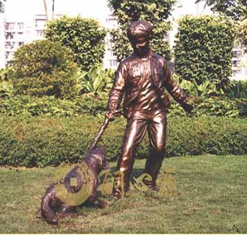 惬意|小区雕塑|园林雕塑|花园雕塑