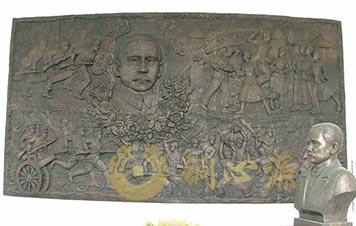 广州孙中山铜浮雕|校园铜雕