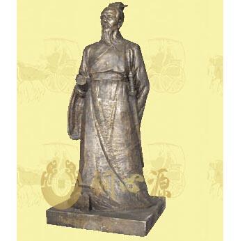 广州海军学校孙子雕塑|校园雕塑|历史人物雕塑