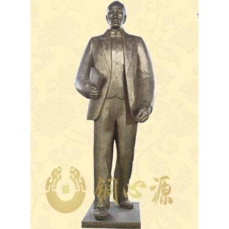 广西玉林高中朱锡昂人物雕塑