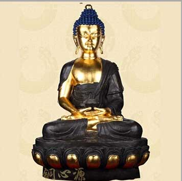 释迦摩尼铜佛像