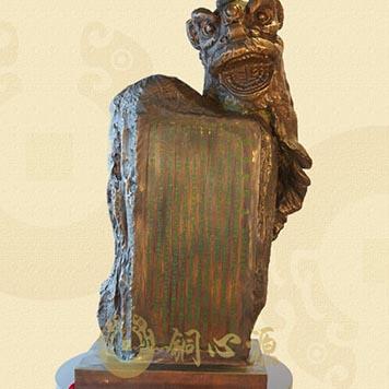 动物瑞兽雕塑-醒狮组雕