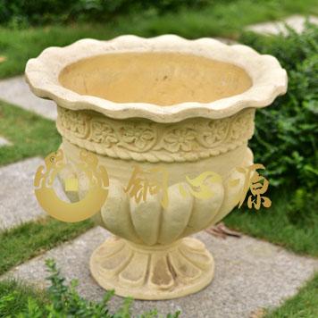 花盆砂岩雕塑