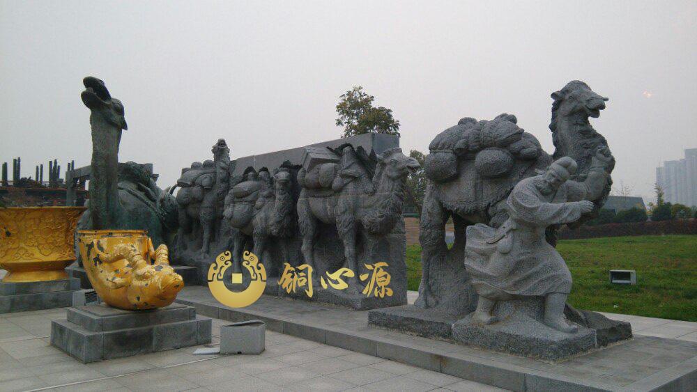西安大明宫雕塑之出塞