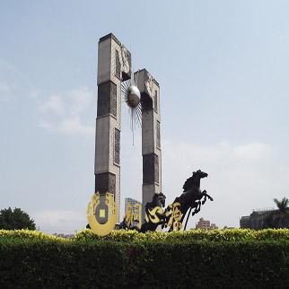 广东省深圳市龙华广场《龙马精神》