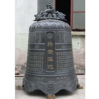 上海梓童莲院铜钟