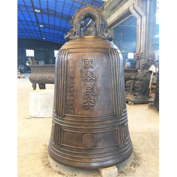 广东省佛山市关帝庙铜钟