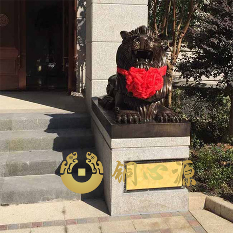 江苏昆山市金都建设有限公司铜狮