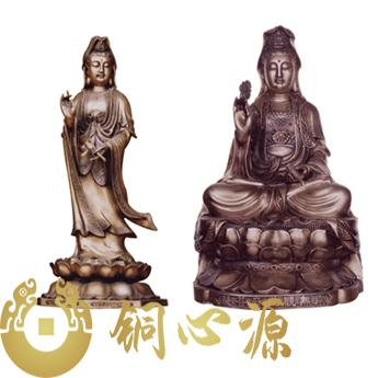 《滴水观音》铜雕/艺术品/工程订制