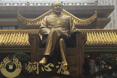 长沙万家丽国际广场毛泽东铜像